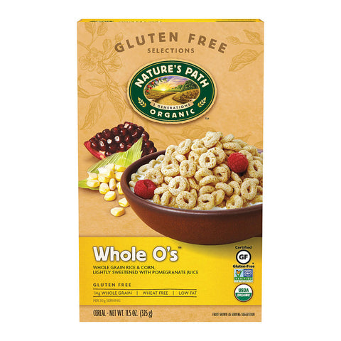 Nature's Path Organic Whole Os Cereal Gluten Free -- 11.5 oz