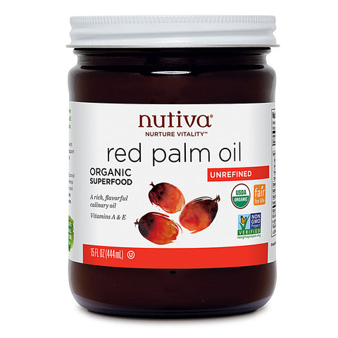 Nutiva Organic Red Palm Oil -- 15 fl oz