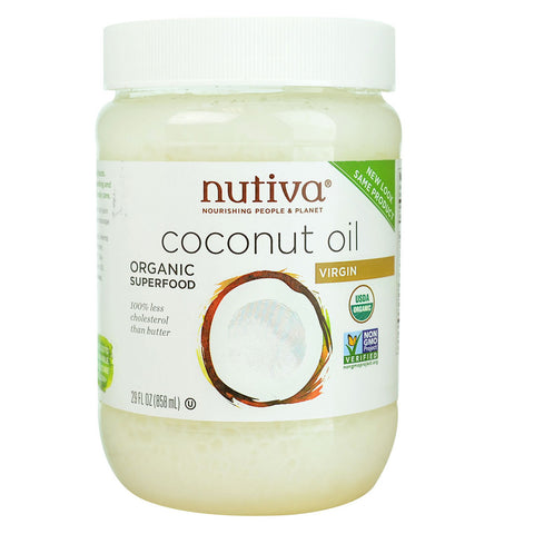 Nutiva Organic Virgin Coconut Oil -- 29 fl oz