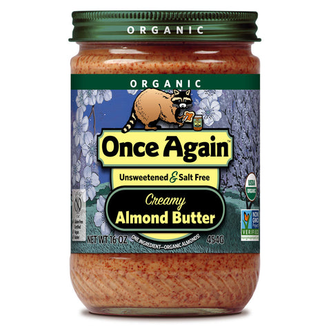 Once Again Organic Creamy Almond Butter -- 16 oz