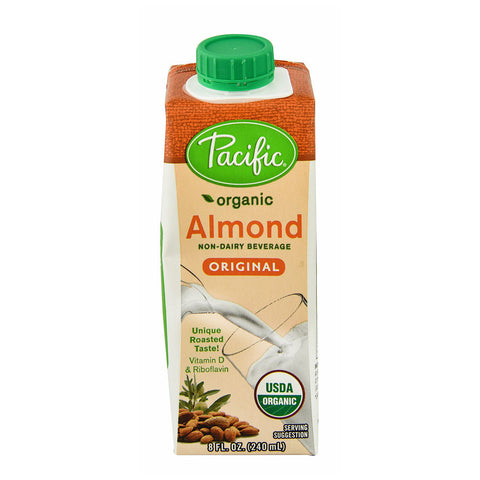 Pacific Natural Foods Organic Almond Milk Original -- 8 fl oz
