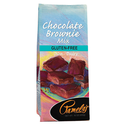 Pamela's Products Gluten Free Brownie Mix Chocolate -- 16 oz
