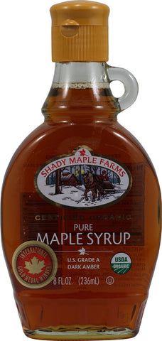 Shady Maple Farms 100% Pure Organic Maple Syrup -- 8 fl oz