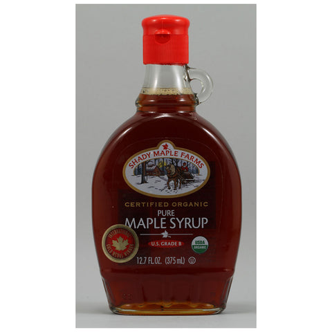 Shady Maple Farms 100% Pure Organic Maple Syrup -- 12.7 fl oz