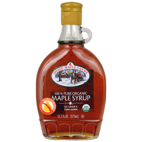Shady Maple Farms 100% Pure Organic Maple Syrup Maple -- 12.7 fl oz
