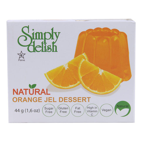 Simply Delish Natural Jel Dessert Sugar Free Orange -- 1.6 oz
