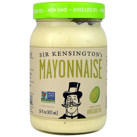Sir Kensington's Mayonnaise Gluten Free Avocado Oil -- 16 fl oz