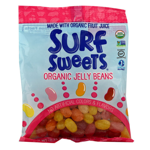 Surf Sweets Organic Jelly Beans -- 2.75 oz