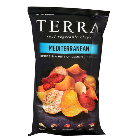 Terra Real Vegetable Chips Mediterranean -- 5 oz
