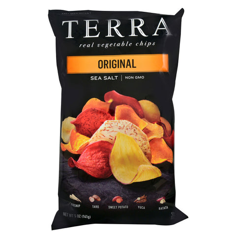 Terra Real Vegetable Chips Original Sea Salt -- 5 oz