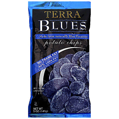Terra Real Vegetable Chips Blues Sea Salt -- 5 oz