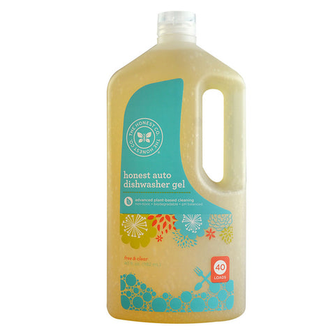 The Honest Company Honest Auto Dishwasher Gel Free & Clear -- 40 fl oz