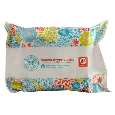 The Honest Company Honest Dryer Cloths -- 32 Cloths