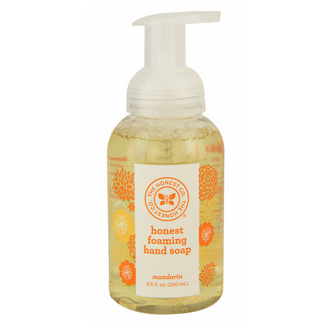 The Honest Company Honest Foaming Hand Soap Mandarin -- 8.5 fl oz