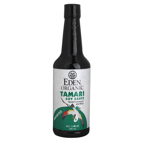 Eden Foods Organic Traditionally Brewed Tamari Soy Sauce -- 10 fl oz