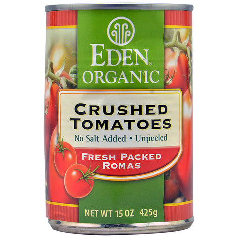 Eden Foods Organic Crushed Tomatoes -- 15 oz