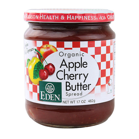 Eden Foods Organic Apple Cherry Butter Spread -- 17 oz