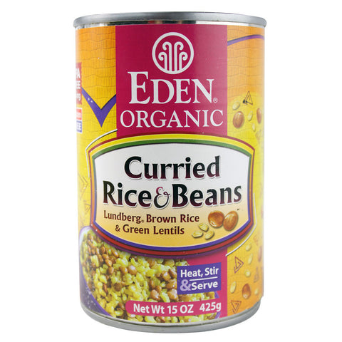 Eden Foods Organic Curried Rice and Lentils -- 15 oz