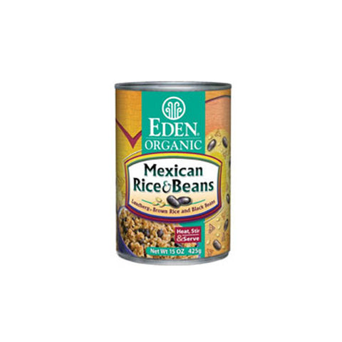 Eden Foods Organic Mexican Rice and Beans -- 15 oz