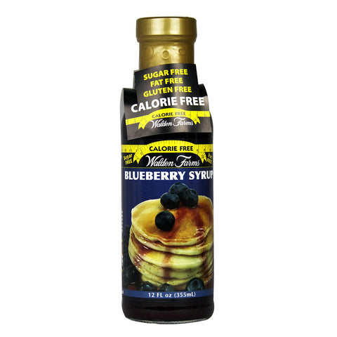 Walden Farms Calorie Free Syrup Blueberry -- 12 fl oz