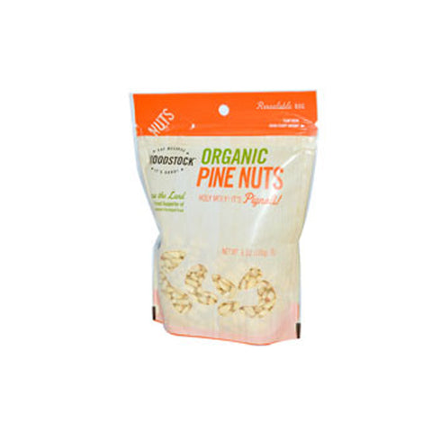 Woodstock Organic Pine Nuts -- 6 oz