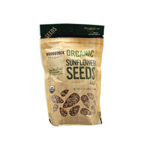 Woodstock Organic Sunflower Seeds -- 12 oz