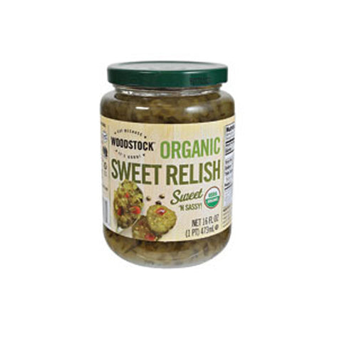 Woodstock Organic Sweet Relish -- 16 oz