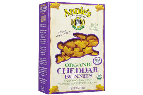 Annie's Homegrown Organic Cheddar Bunnies -- 6.75 oz