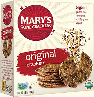 Mary's Gone Crackers Organic Seed Crackers Original -- 6.5 oz