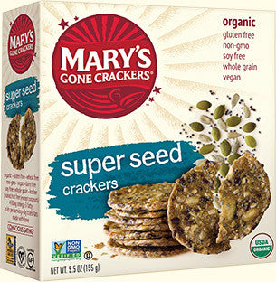 Mary's Gone Crackers Organic Super Seed Crackers -- 5.5 oz
