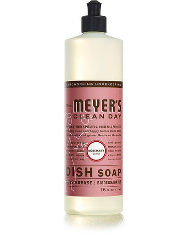 Mrs. Meyer's Clean Day Dish Soap Peppermint -- 16 fl oz