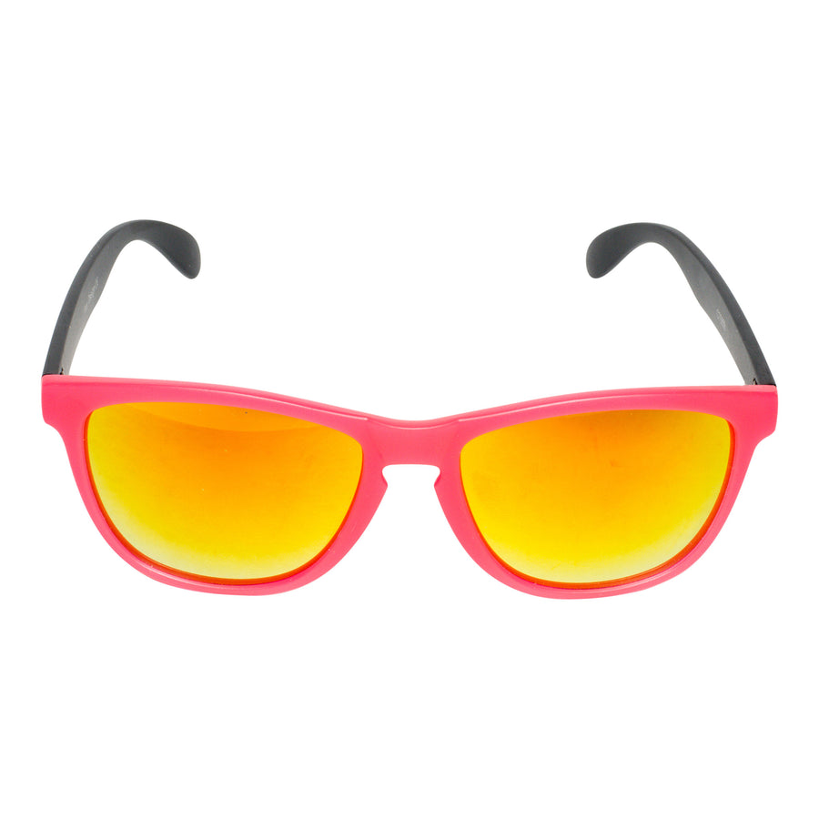 Bangers - Spring Break Keyhole Sunglasses - Sunrise (Pink) - Dicks Cottons Sunglasses  - 1