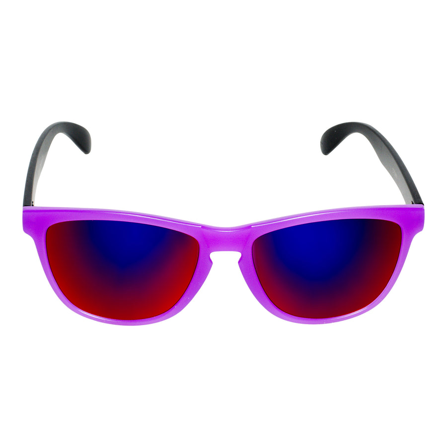 Bangers - Spring Break Keyhole Sunglasses - Grape (Purple) - Dicks Cottons Sunglasses  - 1