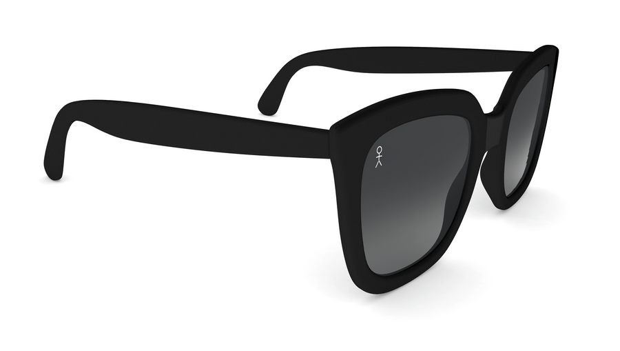 Bridgit Sunglasses - Matte Black