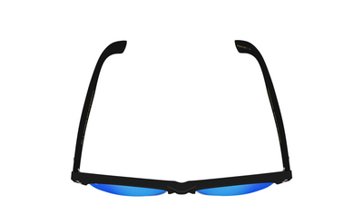 Yachtmaster - BVI - Matte Black with Blue Mirrored Lens - Dicks Cottons Sunglasses  - 5