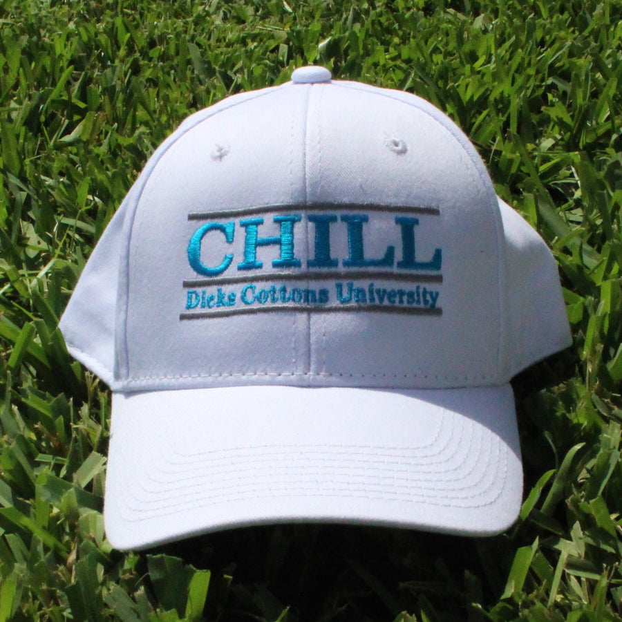Official 3Bar Game Collab Hat - CHILL (Dicks Cottons University) - Dicks Cottons Sunglasses  - 1