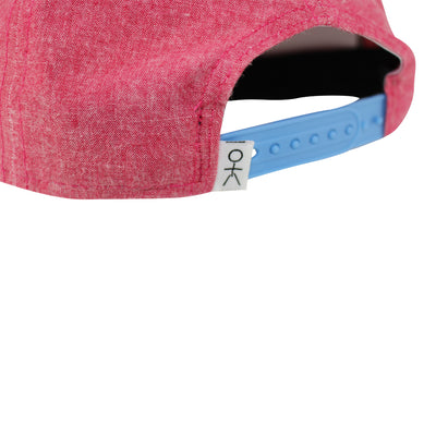 Stickman Snapback Hat - Heather Red / White - Dicks Cottons Sunglasses  - 2