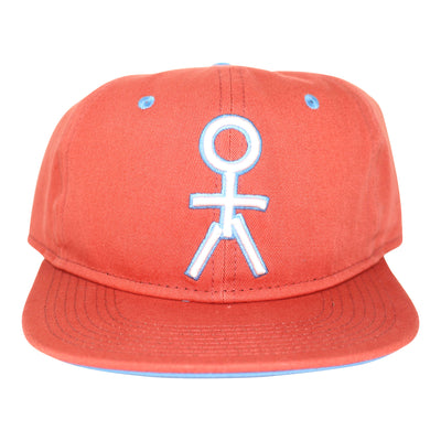 Stickman Snapback Hat - Nantucket Red / White / Blue - Dicks Cottons Sunglasses  - 1