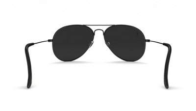Jetsetter Aviator - NYC - Matte Black/Smoke 58mm - Dicks Cottons Sunglasses  - 6