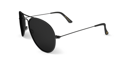 Jetsetter Aviator - NYC - Matte Black/Smoke 58mm - Dicks Cottons Sunglasses  - 3