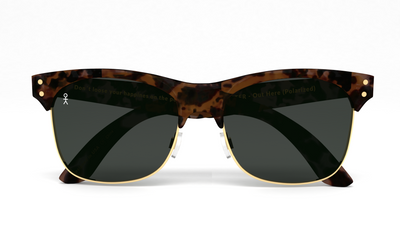 Studmaster - Out Here by Mike Stud - Matte Tort + Gold (Polarized) - Dicks Cottons Sunglasses  - 4