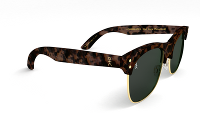 Studmaster - Out Here by Mike Stud - Matte Tort + Gold (Polarized) - Dicks Cottons Sunglasses  - 2