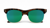 Yachtmaster - Portofino - Tortoise and Green Mirrored Sunglasses - Dicks Cottons Sunglasses  - 4