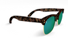 Yachtmaster - Portofino - Tortoise and Green Mirrored Sunglasses - Dicks Cottons Sunglasses  - 2