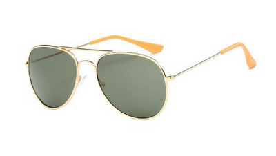 Kids Aviator - Navy Green