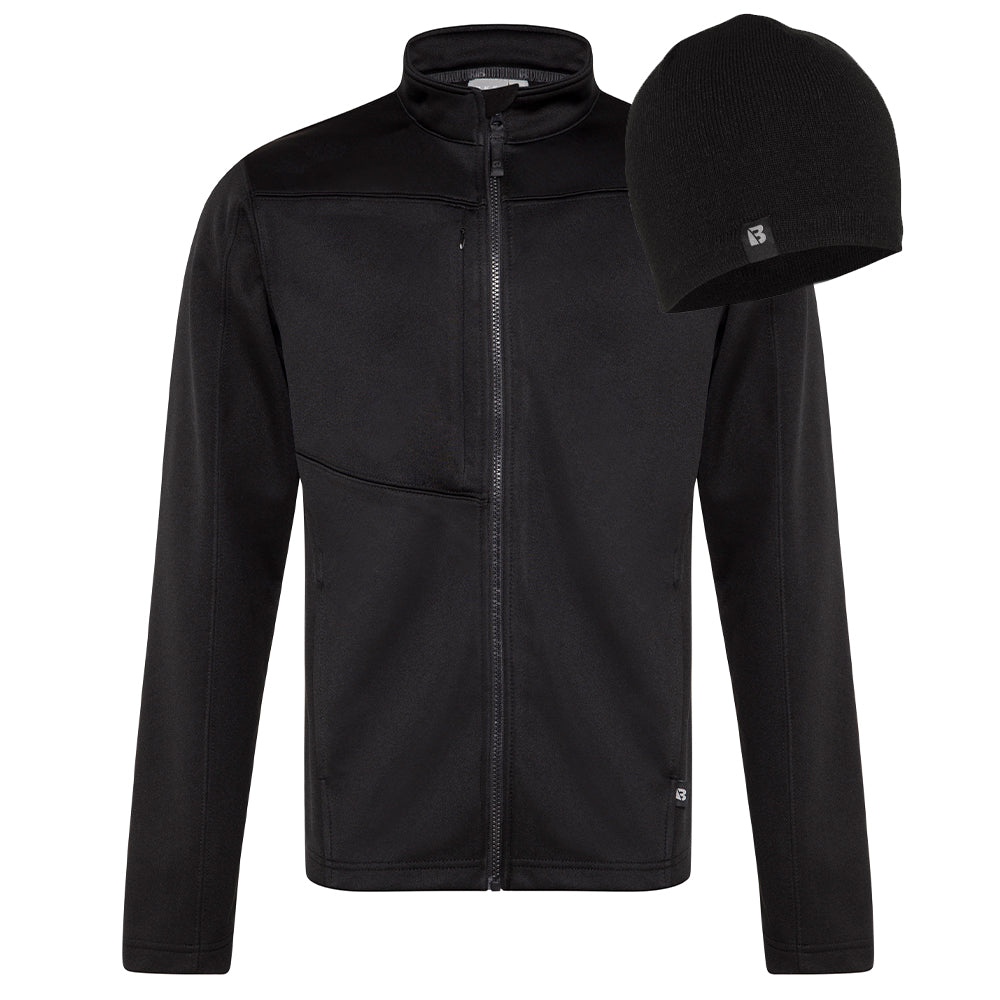 Polar Fleece Jacket & Beanie Bundle