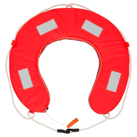 Horseshoe Lifebuoy - YA Orange
