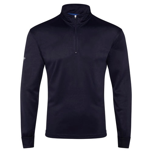 Quick Dry Long Sleeve Zip Polo