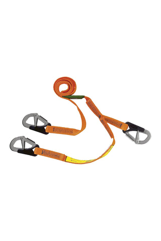 Safety Line - 2 Metre / 3 Hook - SAFBL3
