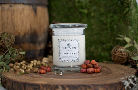 """Pumpkin Spice"" Organic Soy Candle"